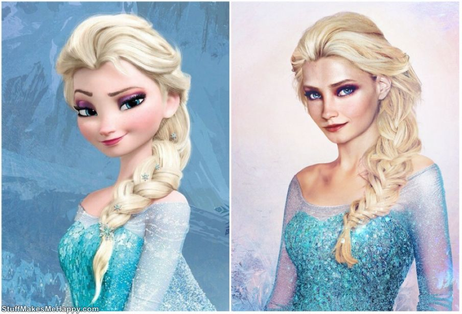 How Disney Princesses Would Look In Real Life