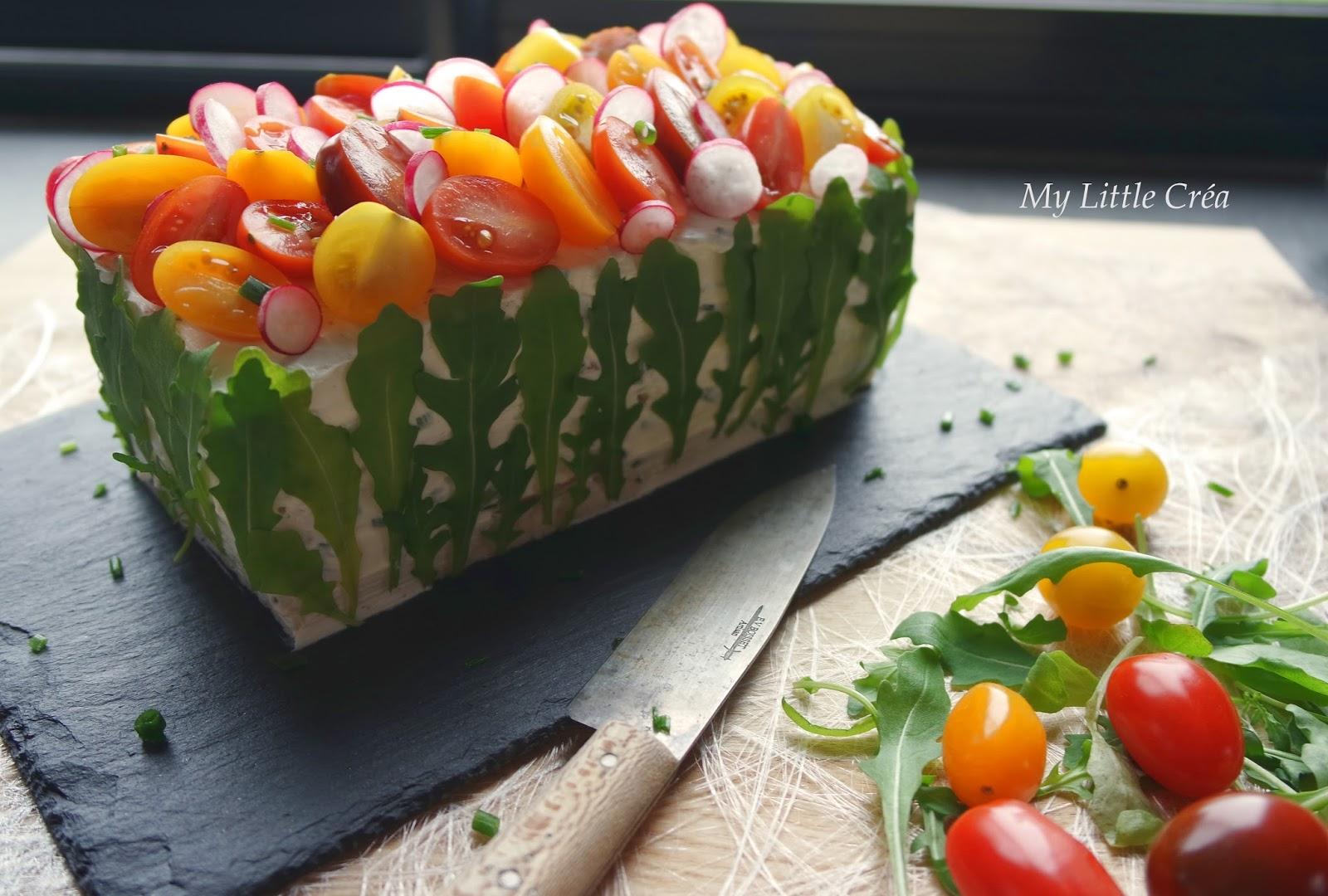 Cake Philadelphia Saumon