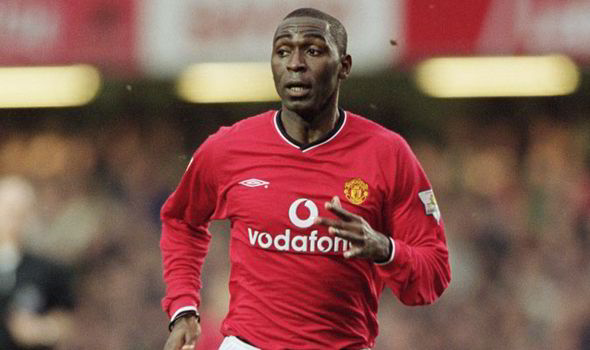 Players has Taken the No.9 at Manchester United - Andy Cole