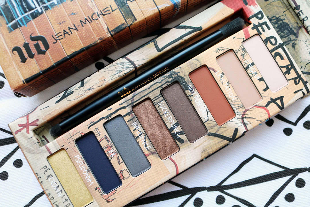 Urban Decay x Jean-Michel Basquiat Gold Griot Eyeshadow Palette