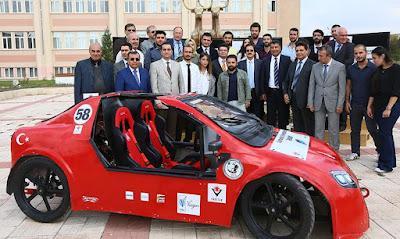 Sivas ın elektrili otomobili