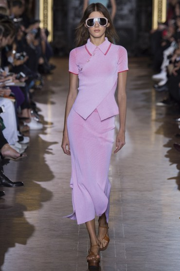 Stella McCartney S/S 2016 rose quartz