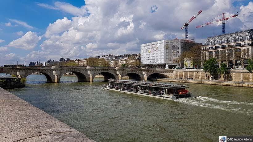 Ponte Neuf - O que fazer em Paris: principais pontos turísticos