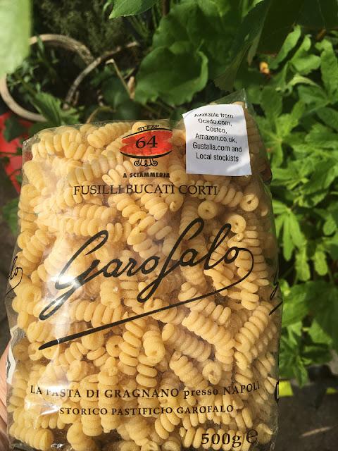 pasta from Degustabox