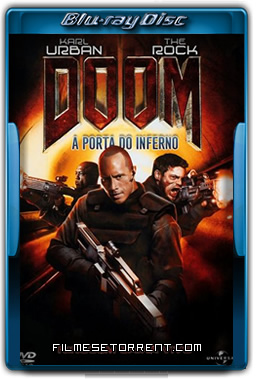 Doom A Porta do Inferno Torrent 2005 720p BluRay Dual Áudio