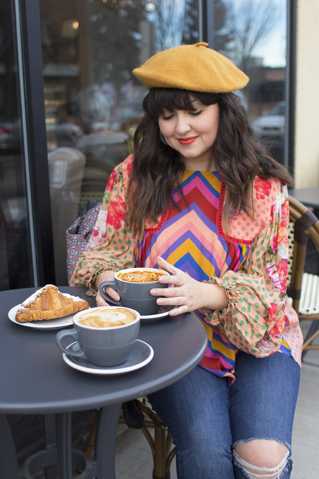 Eclectic Blouse Anthropologie