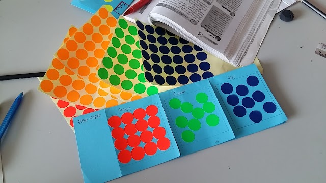 Idea P&P Sains : Keadaan Jirim (Sticker)