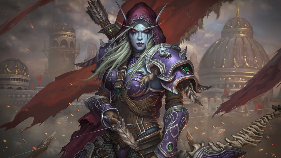 Sylvanas Windrunner Wow 4k Wallpaper 4 411