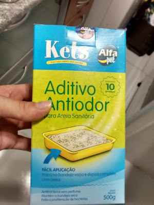 antiodor liteira caixa areia gatos bicarbonato de sódio
