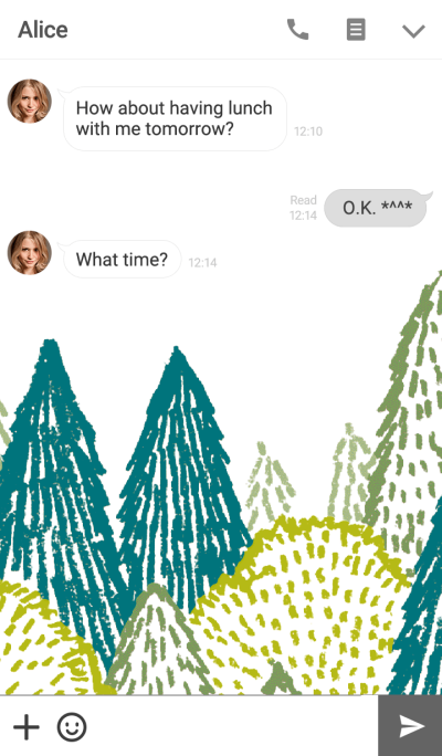 SIMPLE & FOREST (Theme)