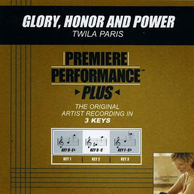 Twila Paris-Premiere Performance Plus-Glory,Honor And Power-