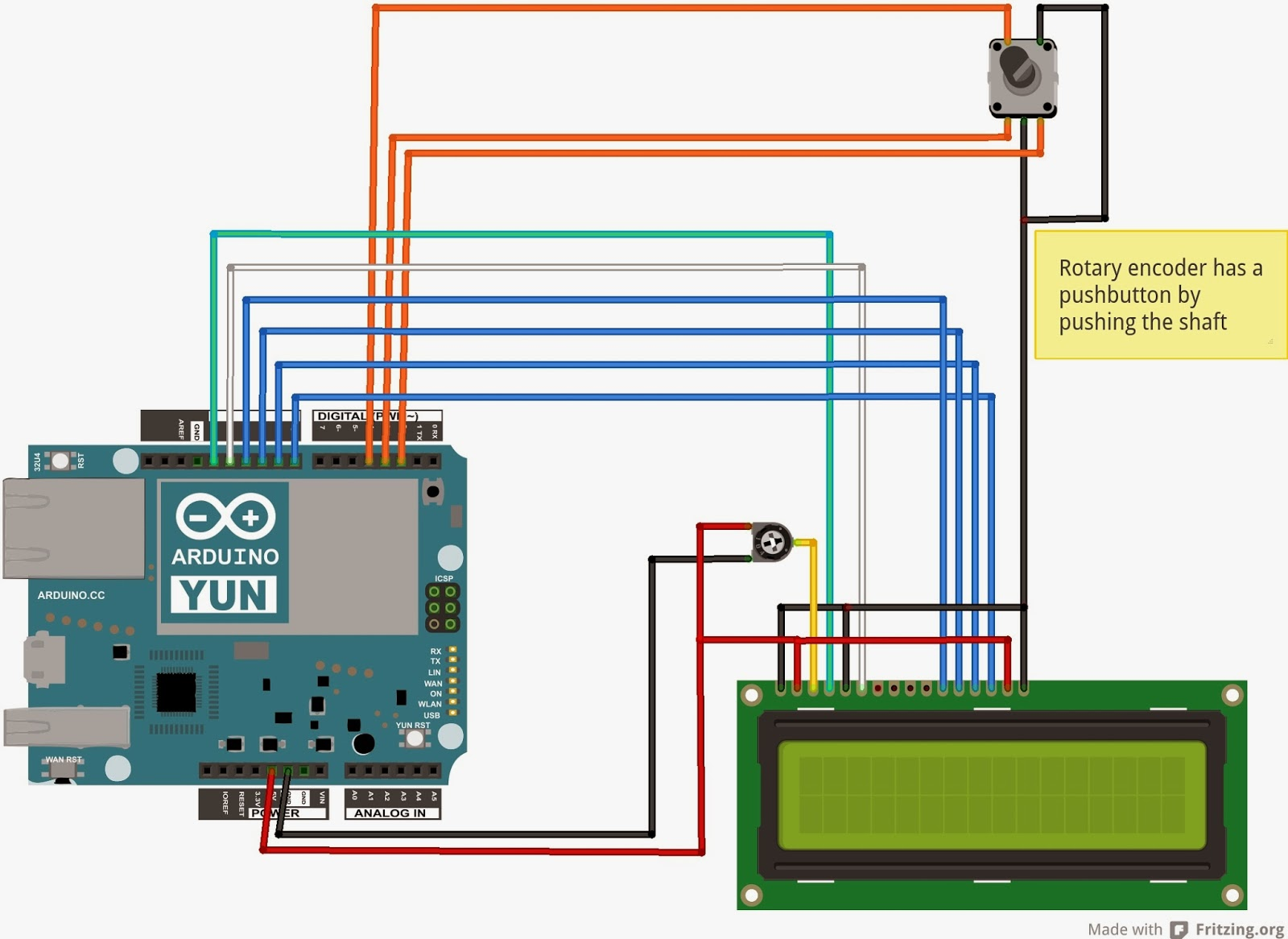 How did I do that?: Adding 16x2 LCD and Rotary Encoder