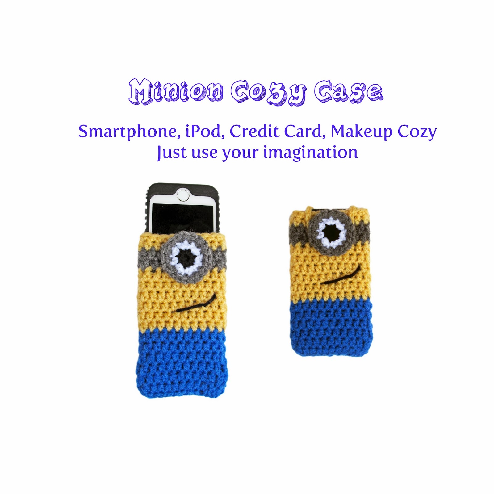 Tampa bay crochet downloadable crochet patterns craftsy download minion cozy case ccuart Choice Image