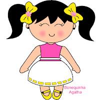 bonequinha Agatha