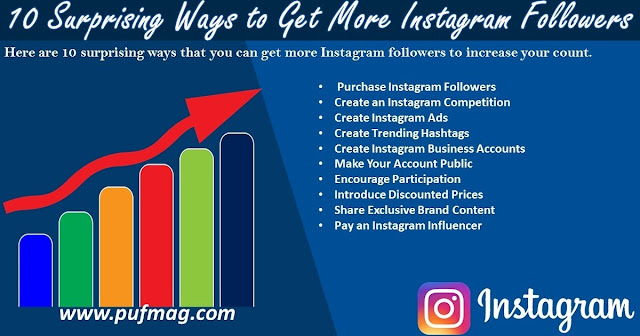 10 Surprising Ways to Get More Instagram Followers