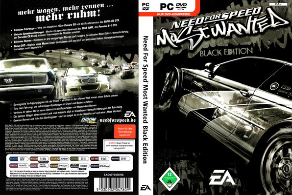 GameTorrent: NFS MOST WANTED 2005 (BLACK EDITION) torrent