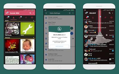 Download BBM Delta MOD APK v3.3.3.39 Update Terbaru
