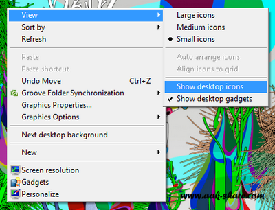 Cara Menampilkan Icon Dekstop Yang Hilang di Komputer