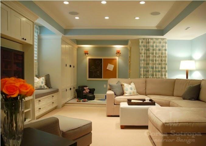 best paint color for basement family room. Black Bedroom Furniture Sets. Home Design Ideas
