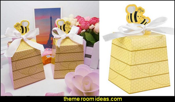 bee hive Favor Boxes   bee themed party - bumble bee decorations - Bumble Bee Party Supplies - bumble bee themed party - Pooh themed birthday party - spring themed party - bee themed party decorations - bee themed table decorations - winnie the pooh party decorations - Bumblebee Balloon -  bumble bee costumes