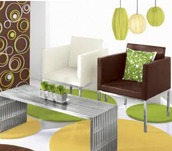 Colors and avant-garde decoration 1