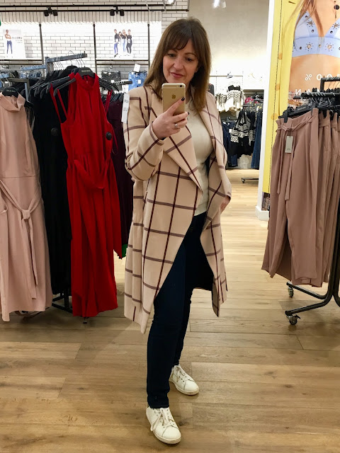 Trench Coat River Island Pink
