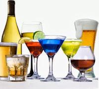 alimentos bebida alcoolica