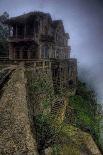 Hotel del Salto was built in 1928 Tequendama Falls the main attraction that invited tourists here. It became contaminated and hotel became redundant