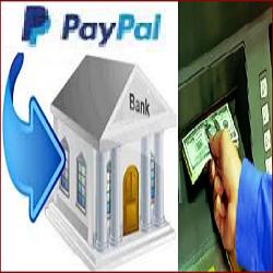 cara mencairkan uang dari paypal ke rekening bank