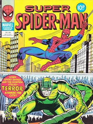 Super Spider-Man #309, the Scorpion
