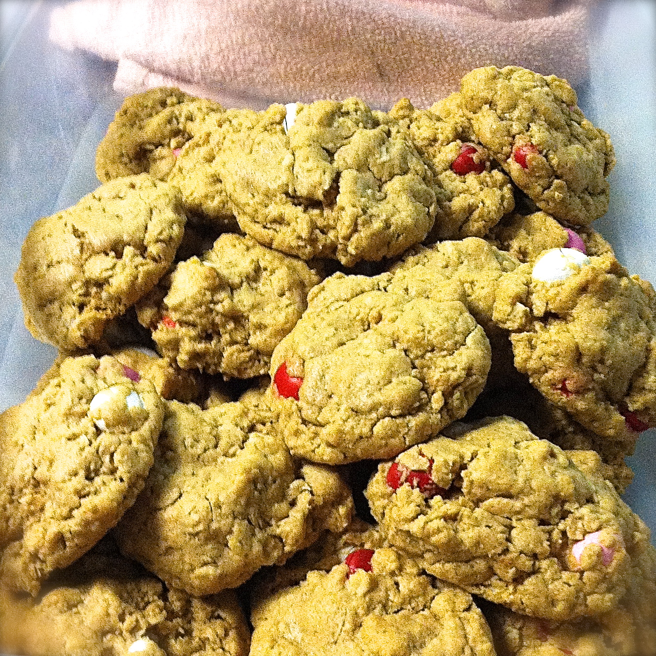 Binomialbaker Oatmeal Peanut Butter Cookies