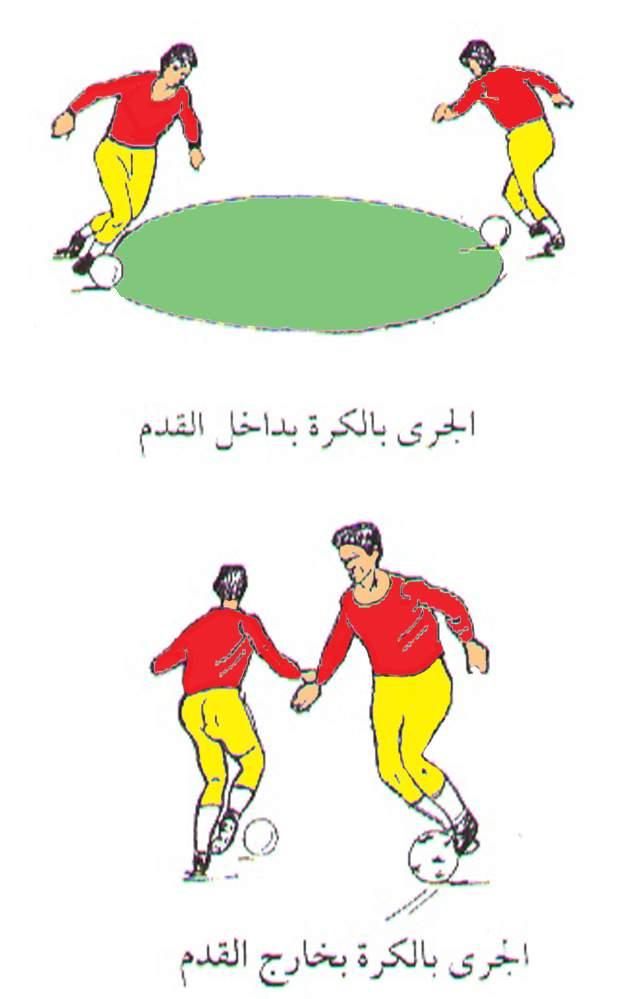لعبة كرة القدم بالراس