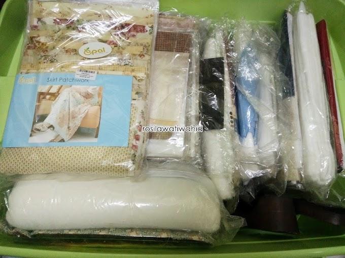 Koleksi Kit Projek Jahitan Bulanan Epal