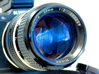 Nikkor 85mm F2 Ai-S, View