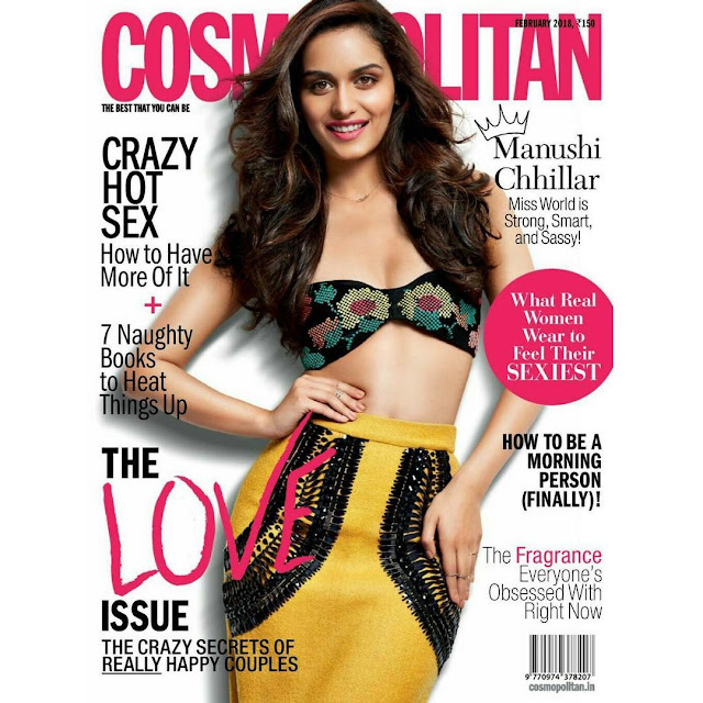 Manushi Chillar at Cosmopolitan Magazine Cover