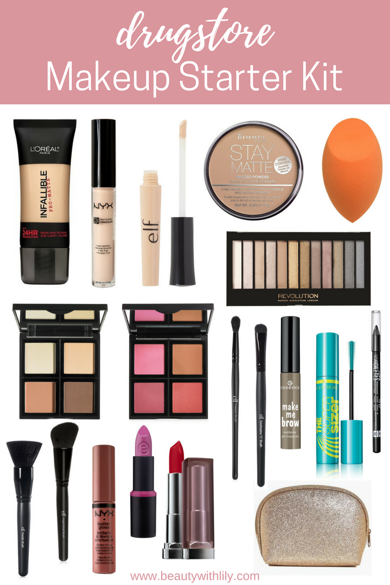 Makeup Starter Kit Under Beauty Lily