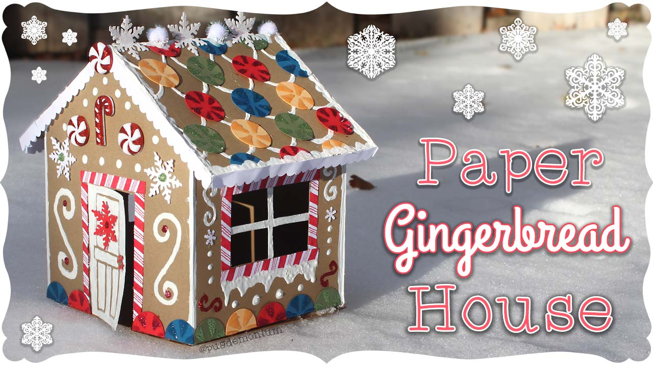 How To Make Gingerbread Paper