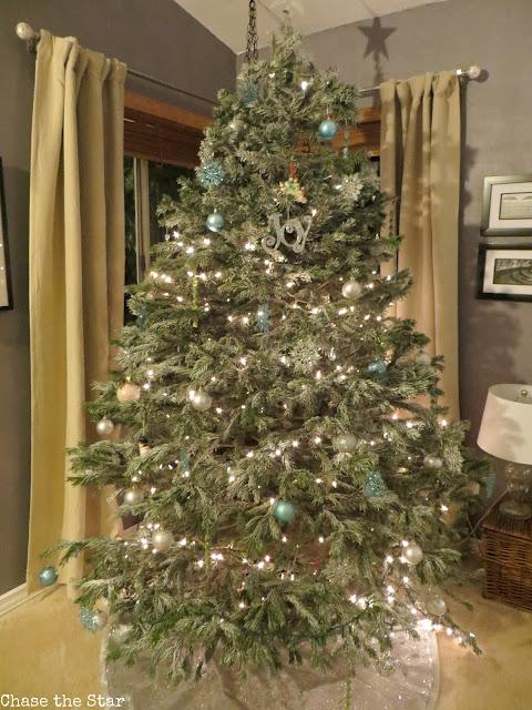 Christmas, holiday, decor, simple, blogger house