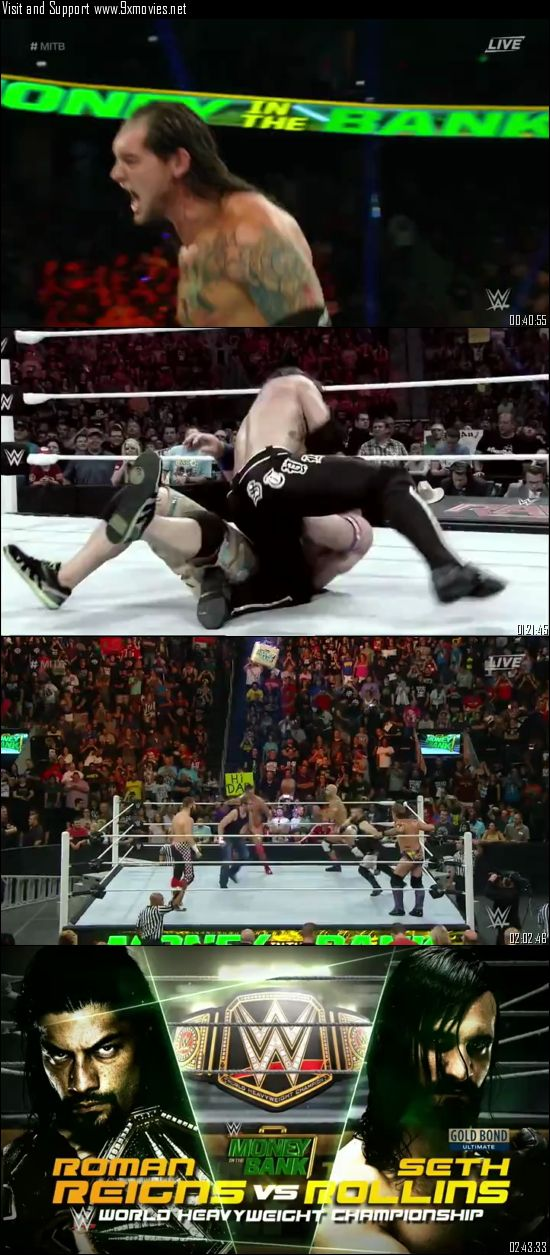 WWE Money In The Bank 2016 PPV WEBRip 480p