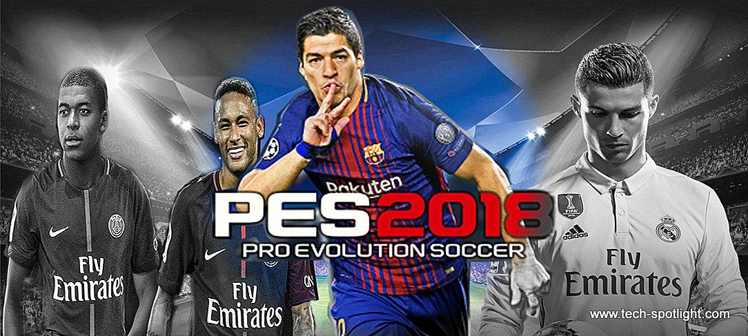 تحميل لعبة بيس 2018 بروابط مباشرة Download PES 2018 لاندرويد