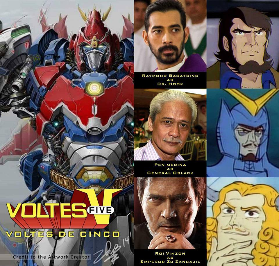 Anime In Gma List: GMA 7 To Make Voltes V Philippine Version?