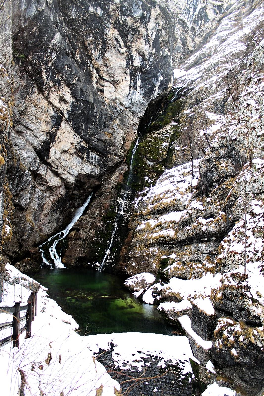 slap savica waterfalls national park triglav