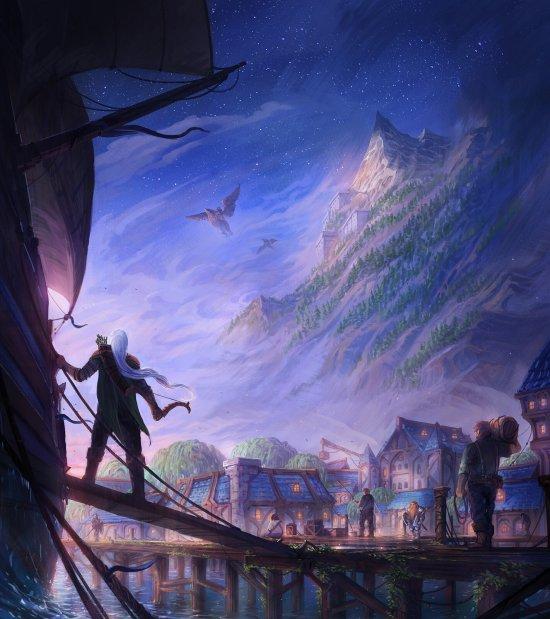 Jorge Jacinto deviantart artstation arte ilustrações fantasia terror sombrio lovecraft games