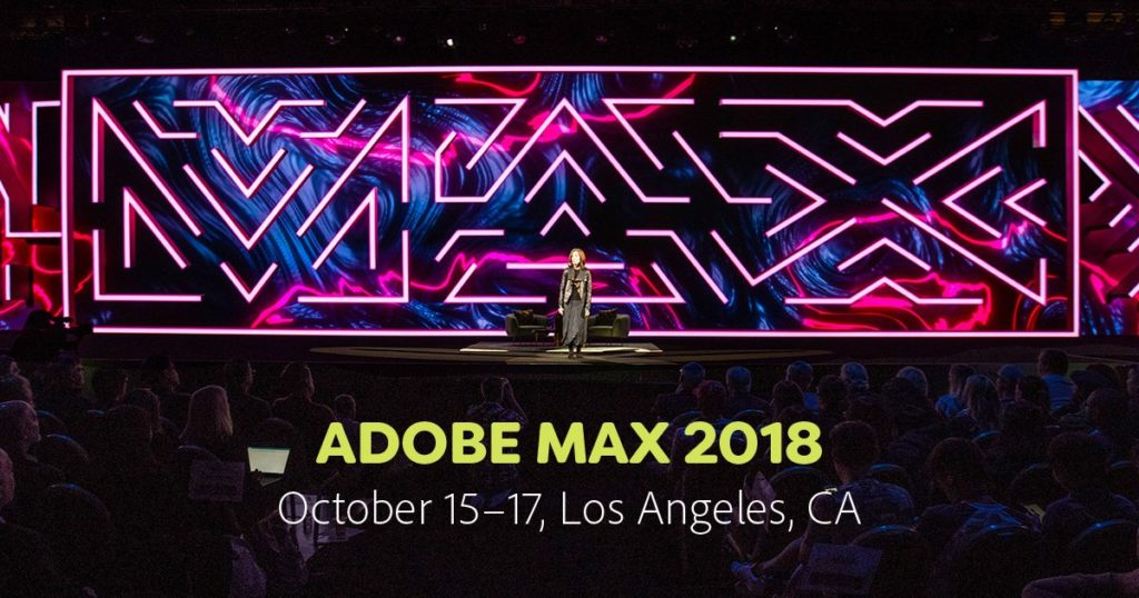 Summary of what Adobe announced at its conference Adobe MAX 2018