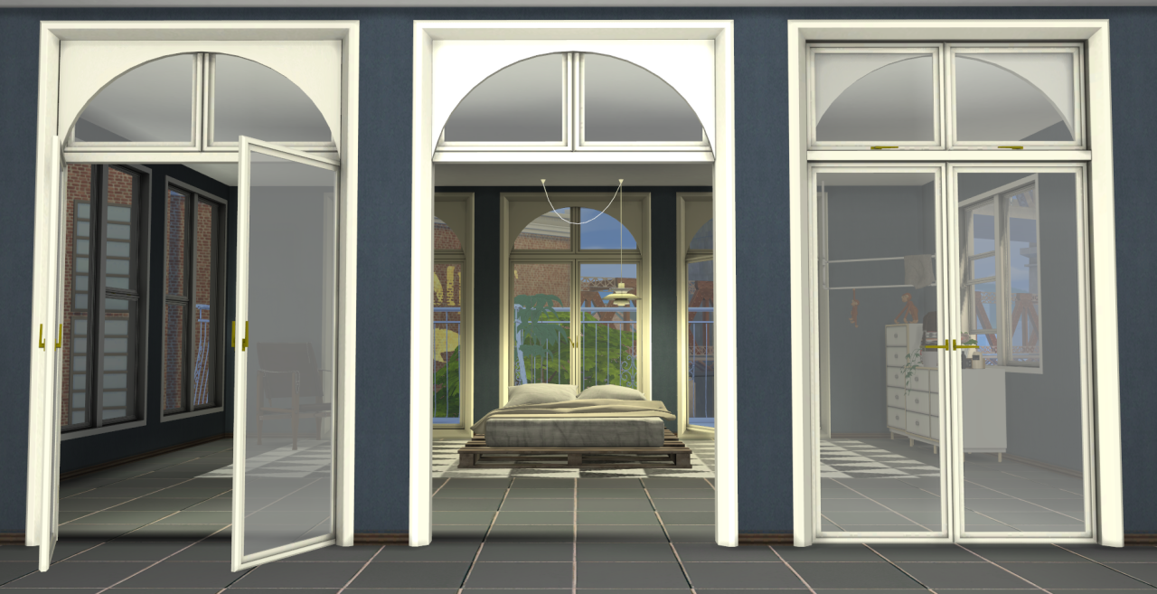 My sims 4 blog gravity windows and doors by minc78 for Windows n doors