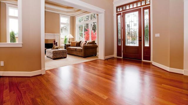 Cách vệ sinh sàn gỗ cho nhà mới xây