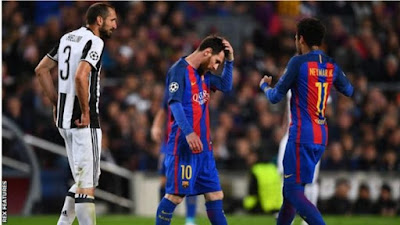 Barcelona Eliminated From The Uefa Champions League After 0-0 Draw With Juventus