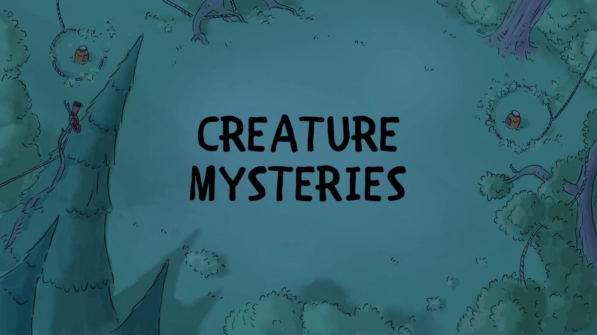 Ursos sem Curso - Mistérios de Criatura