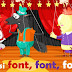 نشيد الاطفال باللغة الفرنسية مترجمة للعربية (Ainsi Font font font )