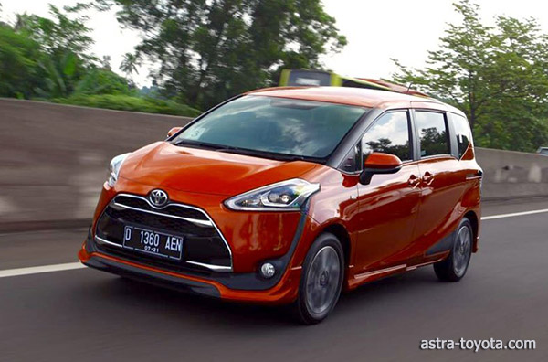 Hasil Test Drive Toyota All New Sienta